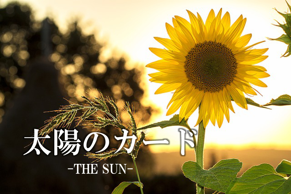 タロットカード太陽のカードの意味アイキャッチ画像