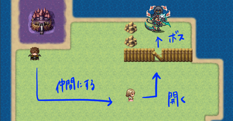 RPGツクールMVでゲーム作成した感想02