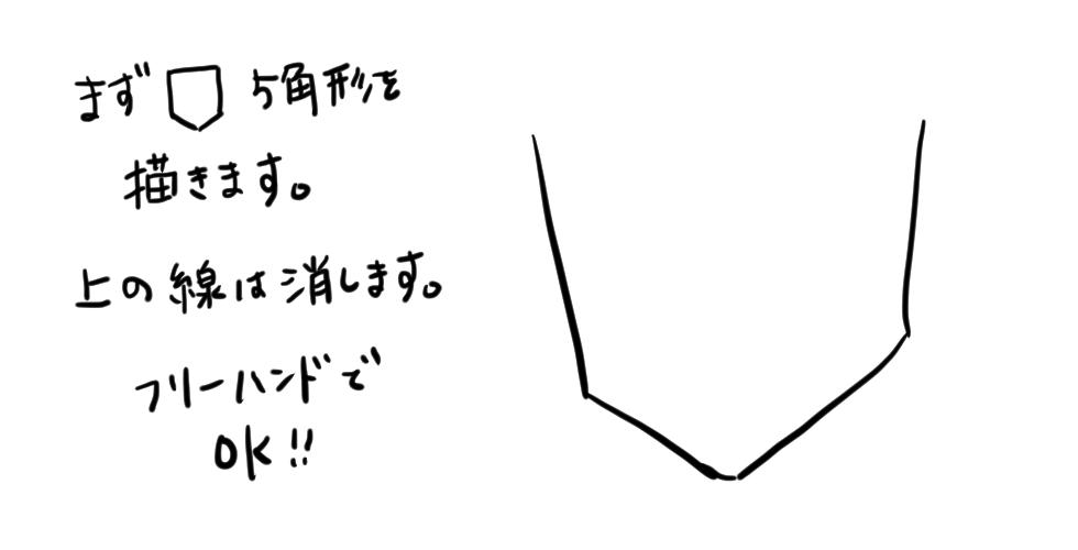 【鬼滅の刃】竈門炭治郎をだれでも簡単に描ける方法01