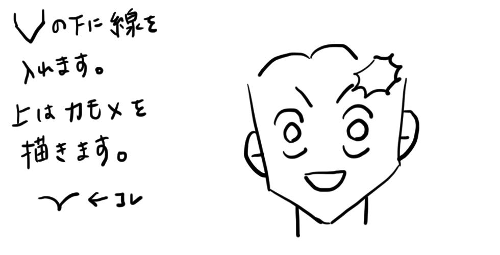 【鬼滅の刃】竈門炭治郎をだれでも簡単に描ける方法06