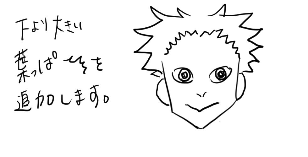 【鬼滅の刃】煉獄杏寿郎をだれでも簡単に描ける方法6